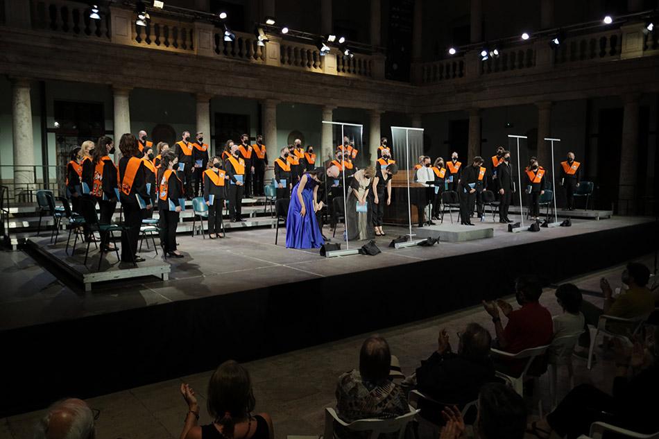 Gira 'Distopia' de l'Orfeó Universitari de València en Serenates a La Nau - imatge 0