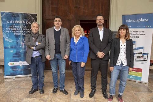 Debat electoral sobre la regulació dels allotjaments turístics a la ciutat de València. Celebrat el 10 d'abril de 2019 en el Paranimf de la UV. - imatge 0