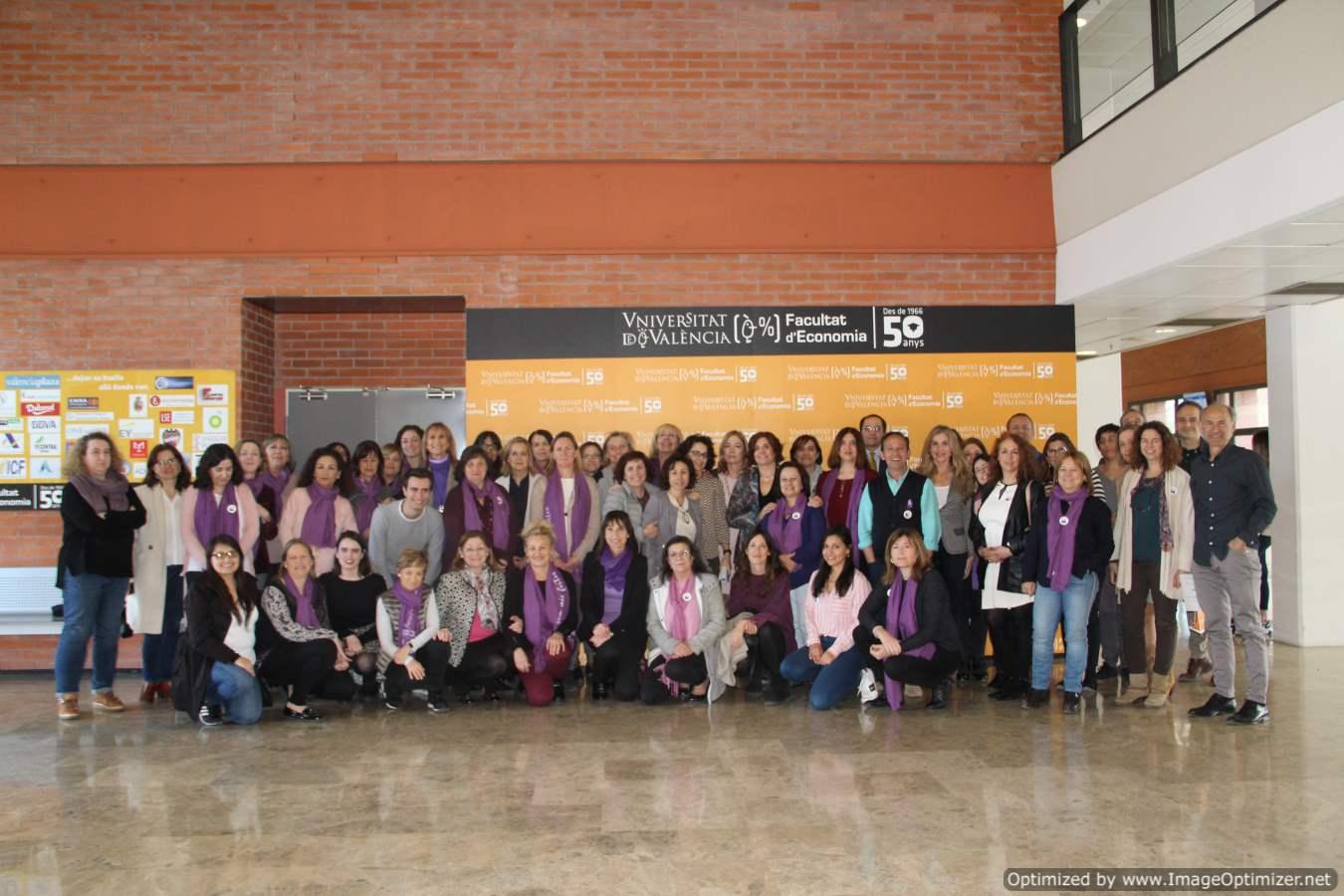 Dia Internacional de la Dona a la Facultat d'Economia 2020 - imatge 0
