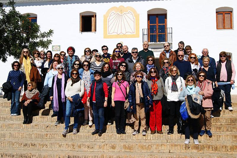 Academic exchange with the Universidad Permanente Millán Santos of Valladolid 2018 - imatge 0