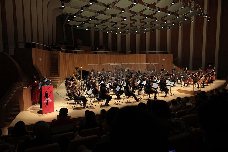 Concert d'Obertura de Curs de la UV 2021-2022. 25 Anys OFUV - imatge 0